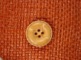 Designer 4 hole Buttons from Japan 1 inch Light Brown #Bpiece-323