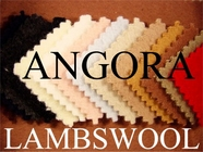 Lambswool Angora Wool Fabric