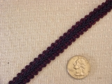 Dark Navy Braided Trim #-LT-413
