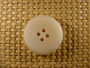 Designer 4 hole Buttons 1 inch Natural White #Bpiece-244