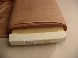 30 yards Tan Rose Lining Fabric #BATH-364