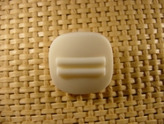 Designer Shank Buttons 7/8 inch Off White #Bpiece-247