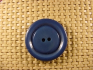 Designer 2 hole Buttons 1 1/8 inches Royal Blue #Bpiece-256