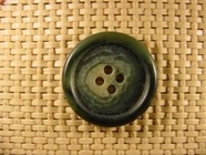 Italian 4 hole Buttons 1 1/8 inches Green #Bpiece-262