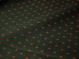 Mauve Diamond Print on Hunter Green Cotton Fabric #NV-116
