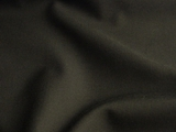 Olive Green Wool Gabardine Fabric #3F-144