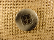 4 holes Italian Buttons 1 1/8 inches Grey #Bpiece-269
