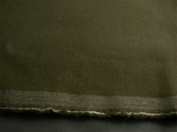 Dark Olive Green Pure Wool Crepe Fabric # K-569