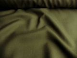 Dark Olive Wool Gabardine Fabric # WL-26
