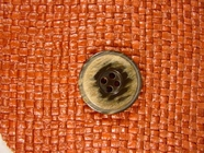 Designer 4 hole Buttons from Italy 7/8 inch Grey Brownstone #Bpiece-281