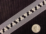 White / Crystal Rhinestone Trim #-LT-342