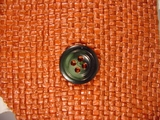 Italian Designer 4 hole Buttons 13/16 inch Dark Brown #Bpiece-333