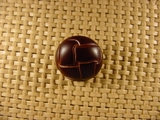 Designer Shank Buttons 13/16 inch Brown #Bpiece-368