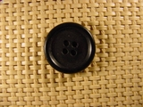 4 holes Italian Buttons 7/8 inch Black #Bpiece-389