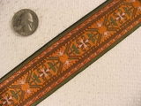Earthly Autumn Jacquard Ribbon #-WR-100