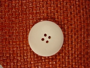 Italian 4 hole Buttons 1 1/4 inches Off White #Bpiece-322