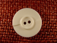 2 hole Italian Buttons 1 1/4 inches White #Bpiece-339