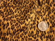 ANIMAL PRINT KNIT Fabric