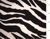 Zebra Print Fabric #ABC-573