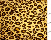 Jaguar Print Fabric #ABC-574