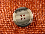 4 hole Italian Buttons 1 1/8 inches Multi Grey #Bpiece-355