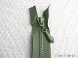 "20"" Olive Separating Zipper #-ZP-716"