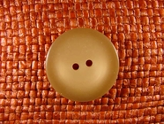 Designer 2 hole Buttons 1 1/8 inches Tan #Bpiece-359