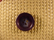 4 hole Italian Buttons 7/8 inch Medium Blue #Bpiece-361