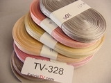 210 yards Assorted Ribbons (6 Rolls) #-TV-328