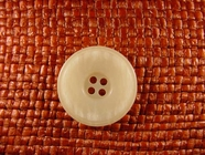 4 hole Italian Buttons 1 inch Off White #Bpiece-363
