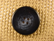 4 hole Italian Buttons 1 1/4 inches Navy #Bpiece-376