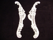 Venise Collar Applique (Pair) #AP-30