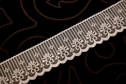 "1 7/8"" Natural White Lace Trim #1033"
