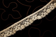 "1 1/4"" Off White Lace Trim Edging #1035"