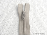 "23"" Light Gray Zipper #-ZP-210"