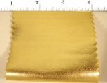 Gold Foil Spandex Knit Fabric #ABC-621