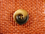 Italian 4 hole Buttons 7/8 inch Brown #Bpiece-160