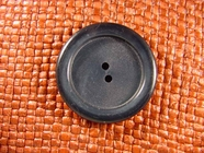 (24pcs) 2 holes Designer Buttons 1 3/8 inches Navy #bag-175