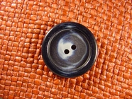 (36pcs) 2 holes Designer Buttons 1 1/8 inches Navy #bag-176