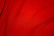 Red Soft Crinkle Rayon Dress Fabric #NV-705