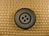 (36pcs) 4 holes Italian Buttons 1 1/8 inches Gray #bag-136