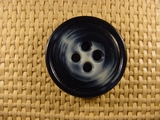(24pcs) 4 holes Designer Buttons 1 1/4 inches Navy #bag-137