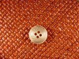 (72pcs) 4 holes Italian Buttons 5/8 inch Cream #bag-149