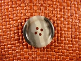 (48pcs) 4 holes Italian Buttons 1 inch Multi Gray #bag-156