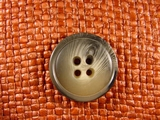 (36pcs) 4 holes Designer Buttons 1 1/8 inches Multi Gray #bag-159