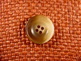 (48pcs) 4 holes Italian Buttons 7/8 inch Tan #bag-162