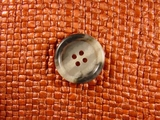 (48pcs) 4 holes Italian Buttons 7/8 inch Multi Grey #bag-181