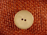 (36pcs) 2 holes Designer Buttons 1 inch Beige #bag-183