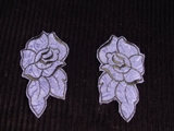 Embroidery Applique (Pair) #AP-20