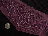 Burgundy Applique #AP-254